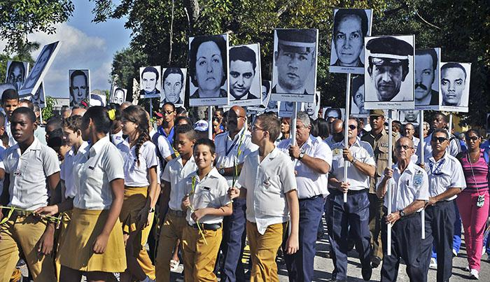Cubans remember victims of Barbados